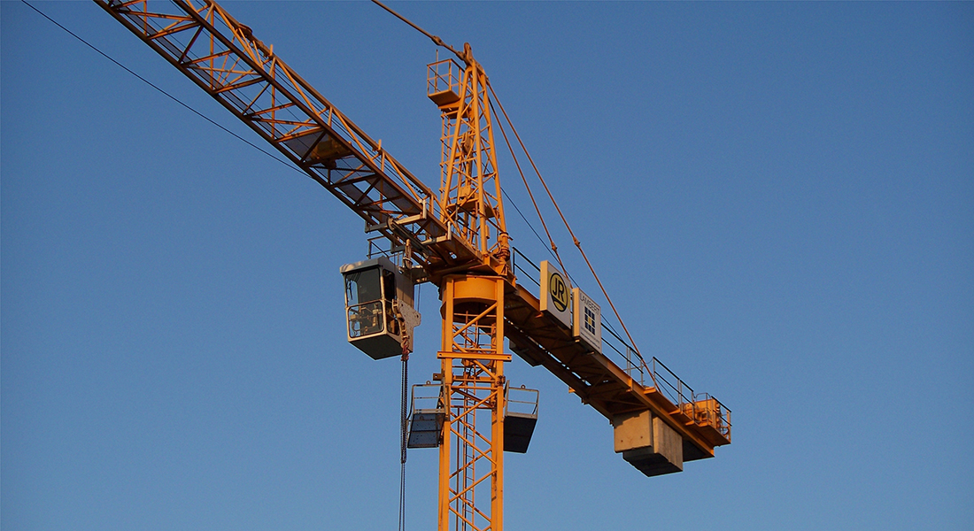 Tower crane applications : Kavitsu bearings